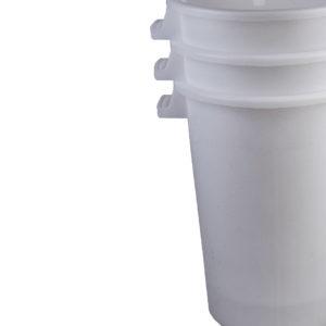 mastello contenitore bianco