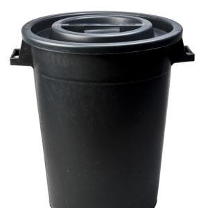 mastello contenitore nero