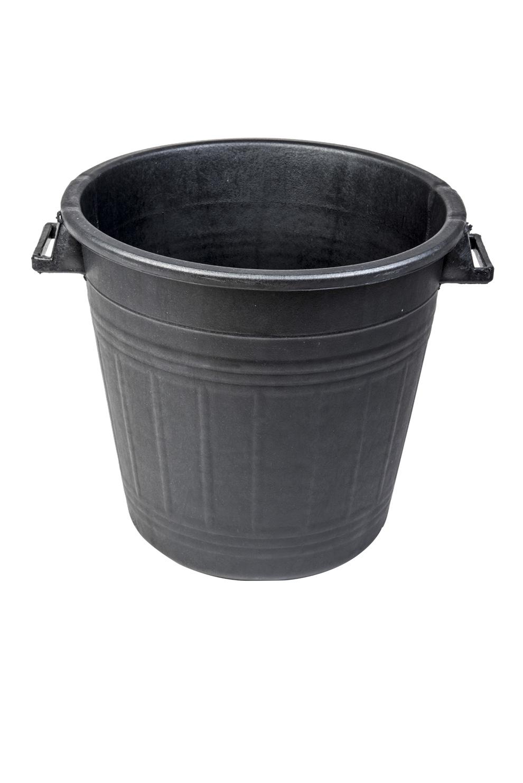 mastello-contenitore-nero