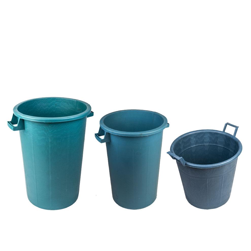 mastello contenitore verde