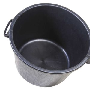 cesto macerie mastello nero 40