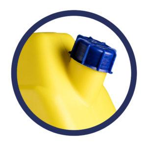 tappo tanica giallla