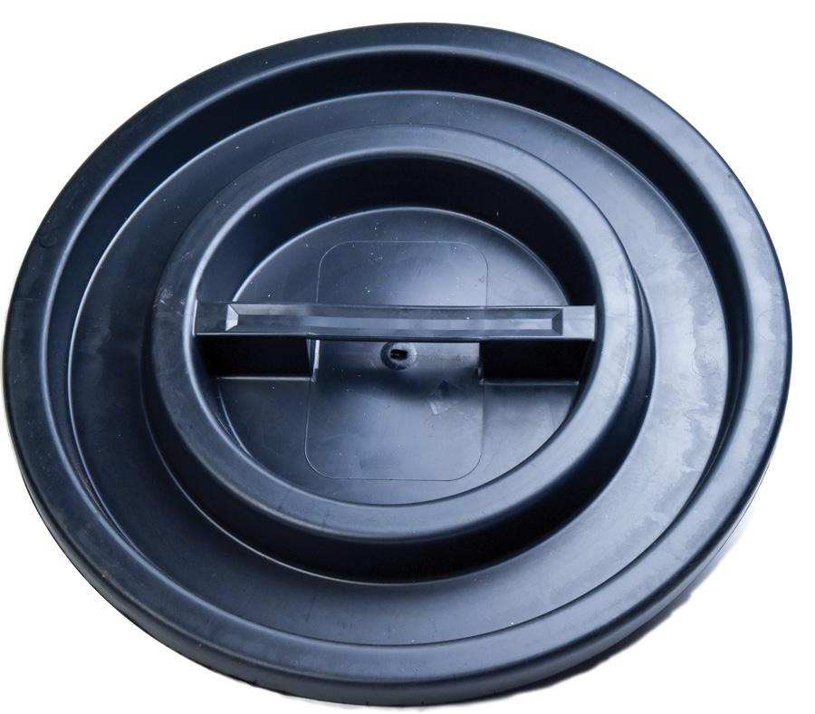 coperchio mastello contenitore nero