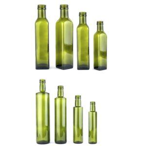 bottiglie per olio marasca e dorica