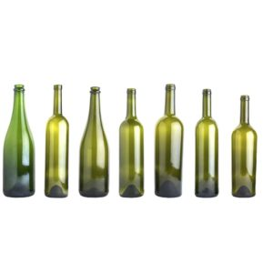 bottiglie per vino bordolese